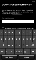 Nokia Lumia 520 - Applications - Créer un compte - Étape 13