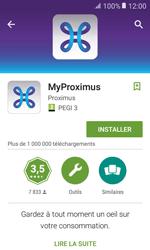 Samsung Galaxy Xcover 3 VE - Applications - MyProximus - Étape 8