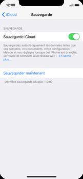 Apple iPhone X - Device maintenance - Back up - Étape 15