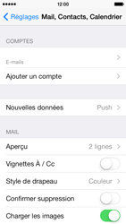 Apple iPhone 5c - E-mail - Configuration manuelle - Étape 25