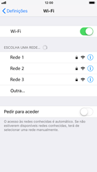 Apple iPhone 7 iOS 11 - Wi-Fi - Como ligar a uma rede Wi-Fi -  5