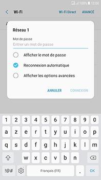 Samsung Galaxy J7 (2017) - Wi-Fi - Accéder au réseau Wi-Fi - Étape 8