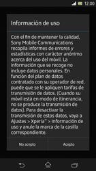 Sony Xperia Z - Primeros pasos - Activar el equipo - Paso 44