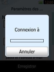 LG T385 - E-mails - Ajouter ou modifier un compte e-mail - Étape 11