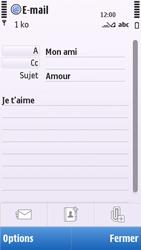 Nokia C5-03 - E-mail - envoyer un e-mail - Étape 8