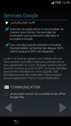 Sony Xpéria T3 - Premiers pas - Créer un compte - Étape 19