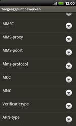HTC S510b Rhyme - MMS - Handmatig instellen - Stap 9