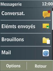 Nokia X3-02 - E-mail - Configuration manuelle - Étape 4