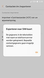 Samsung Galaxy A5 (2017) (SM-A520F) - Contacten en data - Contacten kopiëren van toestel naar SIM - Stap 9