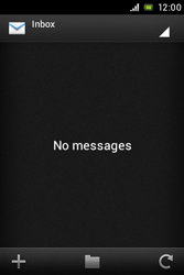 Sony ST23i Xperia Miro - Email - Sending an email message - Step 4