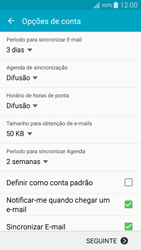 Samsung Galaxy A5 - Email - Adicionar conta de email -  8