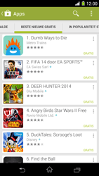 Sony Xperia Z1 4G (C6903) - Applicaties - Downloaden - Stap 11