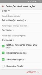 Samsung Galaxy S6 - Email - Adicionar conta de email -  8