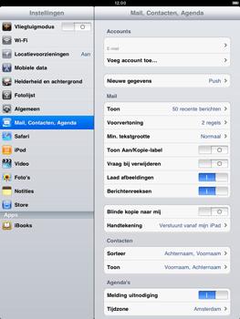 Apple iPad 2 - E-mail - Handmatig instellen - Stap 10