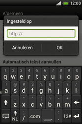 HTC A320e Desire C - Internet - Handmatig instellen - Stap 21