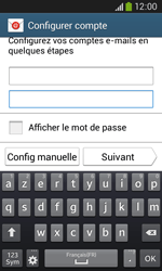 Samsung Galaxy Core Plus - E-mail - Configuration manuelle - Étape 6