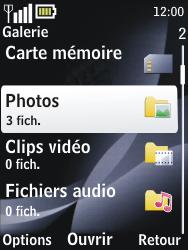 Nokia 2730 classic - MMS - envoi d'images - Étape 11