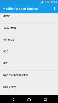 Sony Xperia Z5 Premium (E6853) - MMS - Configuration manuelle - Étape 10