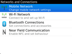 BlackBerry 9900 Bold Touch - Network - Usage across the border - Step 5