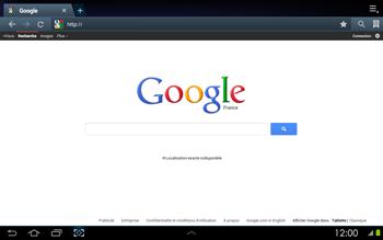 Samsung P5100 Galaxy Tab 2 10-1 - Internet - navigation sur Internet - Étape 4