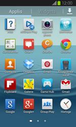 Samsung Galaxy Express - Photos, vidéos, musique - Créer une vidéo - Étape 3