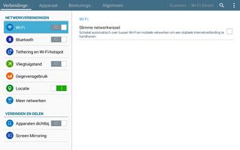 Samsung Galaxy Tab4 10.1 4G (SM-T535) - Buitenland - Bellen, sms en internet - Stap 5