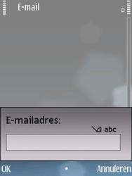 Nokia E75 - E-mail - Handmatig instellen - Stap 7