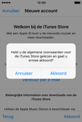 Apple iPhone 4S (iOS 9) - apps - account instellen - stap 11