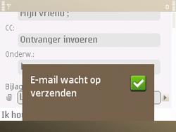 Nokia E72 - E-mail - e-mail versturen - Stap 14