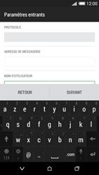 HTC Desire 620 - E-mail - Configuration manuelle - Étape 8