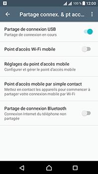 Sony Xperia L1 - Internet et connexion - Utiliser le mode modem par USB - Étape 9
