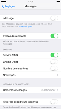 Apple iPhone 7 Plus - iOS features - Envoyer un iMessage - Étape 4