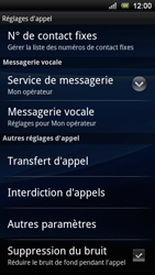 Sony Ericsson Xperia Ray - Messagerie vocale - configuration manuelle - Étape 6