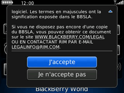 BlackBerry 8520 - Applications - Télécharger une application - Étape 4