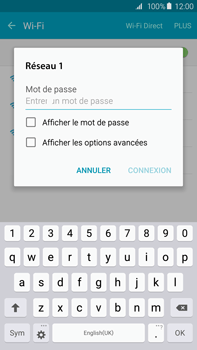Samsung G928F Galaxy S6 edge+ - Wifi - configuration manuelle - Étape 6