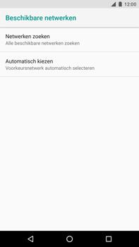 Huawei Nexus 6P - Android Oreo - Netwerk - Handmatig een netwerk selecteren - Stap 7