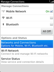 BlackBerry 9810 Torch - Network - Usage across the border - Step 4