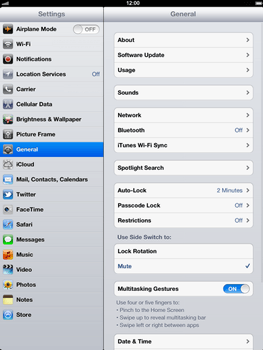 Apple The New iPad - E-mail - Manual configuration - Step 3