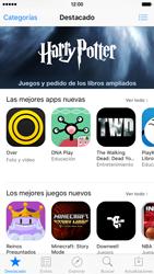 Apple iPhone 6s iOS 9 - Aplicaciones - Descargar aplicaciones - Paso 3