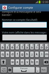 Samsung S6810P Galaxy Fame - E-mail - Configuration manuelle - Étape 19