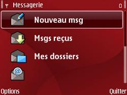 Nokia E63 - MMS - Envoi d