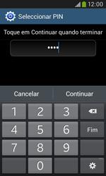 Samsung Galaxy Grand Neo - Segurança - Como ativar o código de bloqueio do ecrã -  9