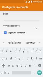 Wiko Freddy - E-mails - Ajouter ou modifier un compte e-mail - Étape 19