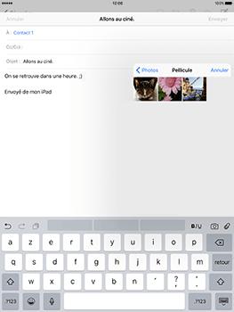 Apple iPad Pro 9.7 - iOS 10 - E-mail - envoyer un e-mail - Étape 9
