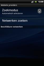Sony Ericsson Xperia Mini Pro - Netwerk - gebruik in het buitenland - Stap 9