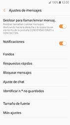 Samsung Galaxy A3 (2017) (A320) - Mensajería - Configurar el equipo para mensajes de texto - Paso 6