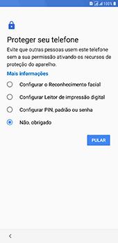 Samsung Galaxy J8 - Primeiros passos - Como ativar seu aparelho - Etapa 13
