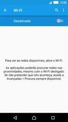 Sony Xperia M4 Aqua - Wi-Fi - Como ligar a uma rede Wi-Fi -  5