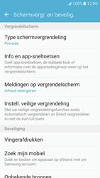 Samsung Galaxy S7 - Beveiliging en ouderlijk toezicht - Automatische schermvergrendeling inschakelen - Stap 13
