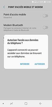 Samsung Galaxy A6 - Internet et connexion - Utiliser le mode modem par USB - Étape 7